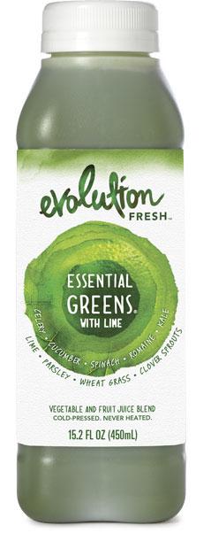 Essential greens juice